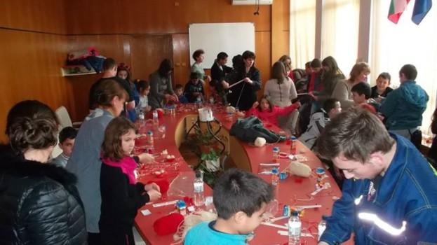 Работилница за мартеници в град Смолян / 19 февруари 2015г./