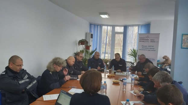 Трета  фокус-група с полицейски служители по темата домашно насилие